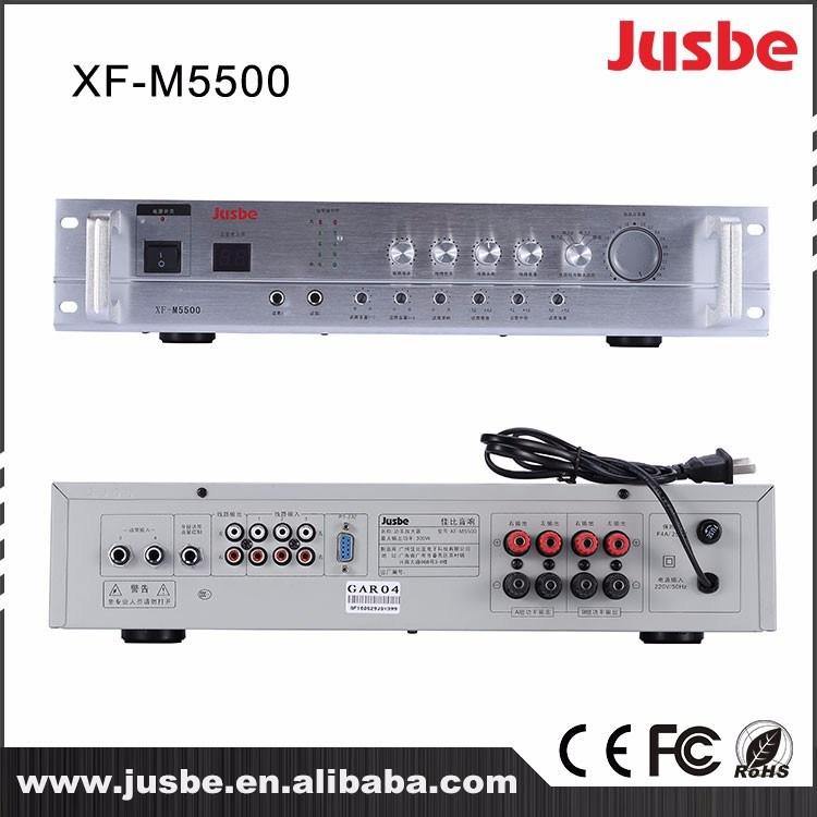 Xf-M5500 2.4G Class D Professional Tube Power Amplifier