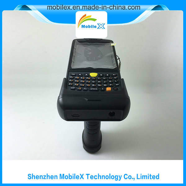 PDA with Pistol Grip, 1d/2D Barcode, Lf/Hf/UHF RFID Reader