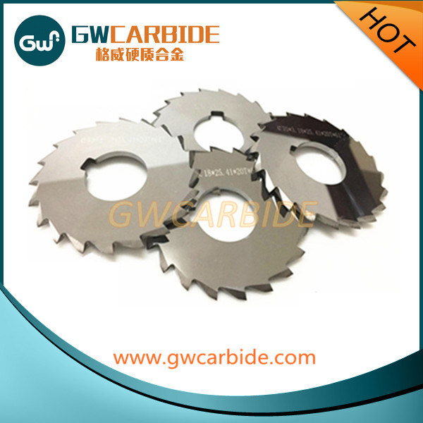 Cemented Carbide Cutting Disc Carbide Slitting Cutters Saw Blade