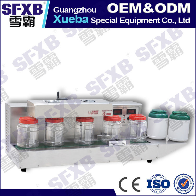 Sf-1800 Desktop Automatic Aluminum Foil Jar Sealing Machine