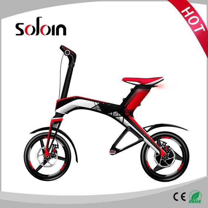300W 48V Brushless DC Motor Mobility Foldable Balance Electric Bike (SZE300B-1)