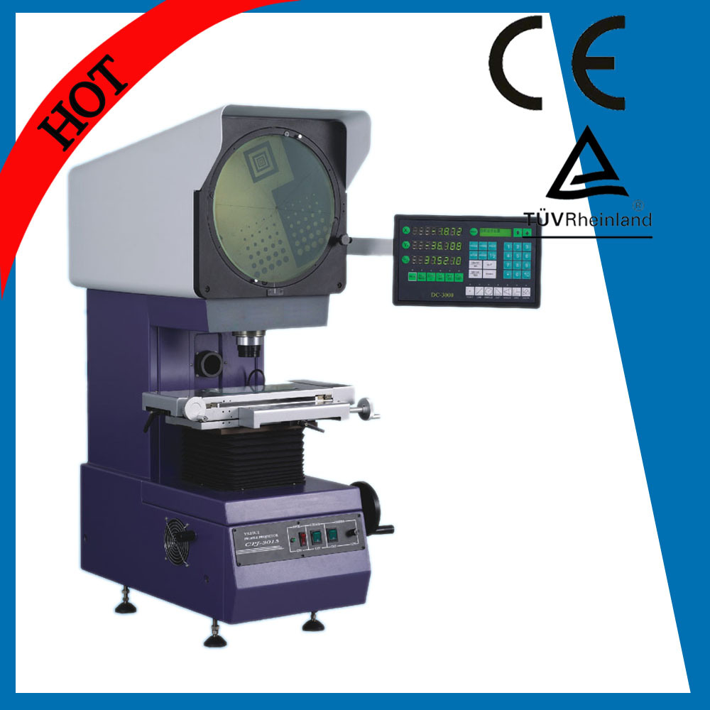 Germany Quality Ce Vertical Optical Profile Projector with LED Light