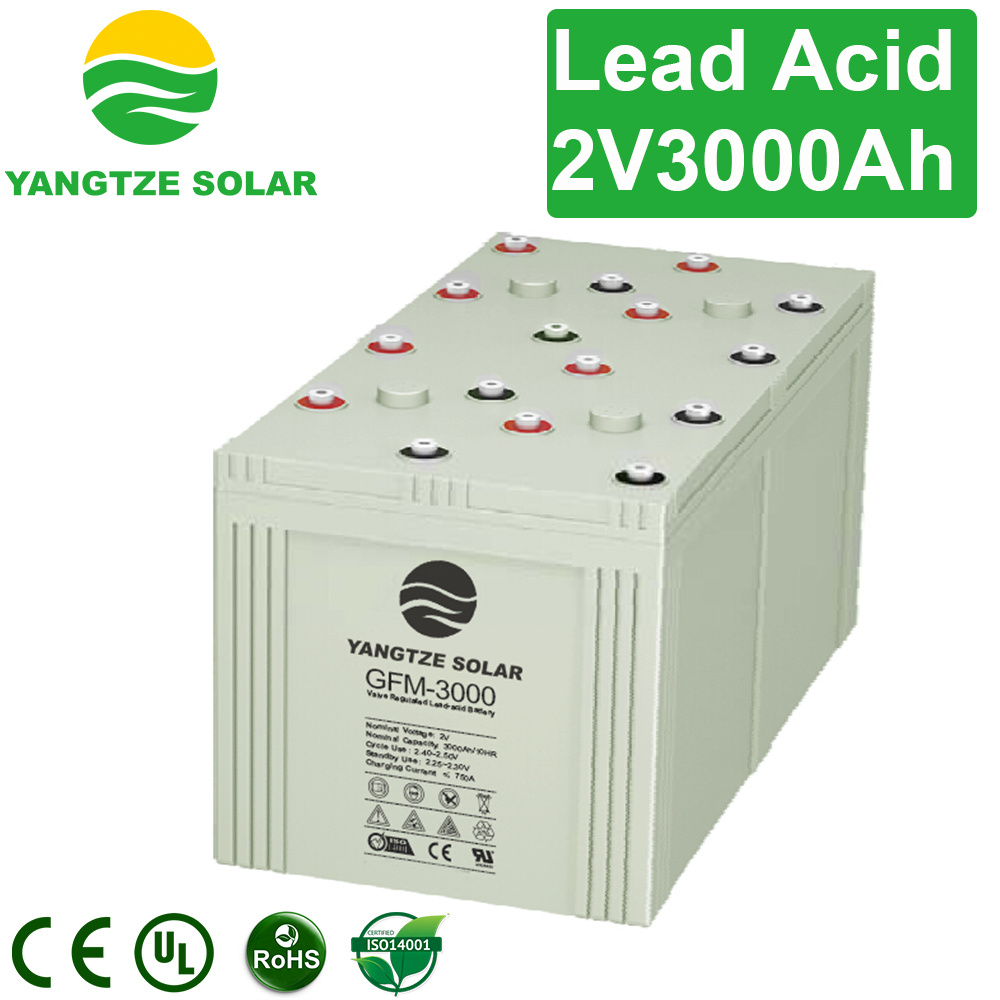 Euro Solar Battery 2V 3000ah Banks