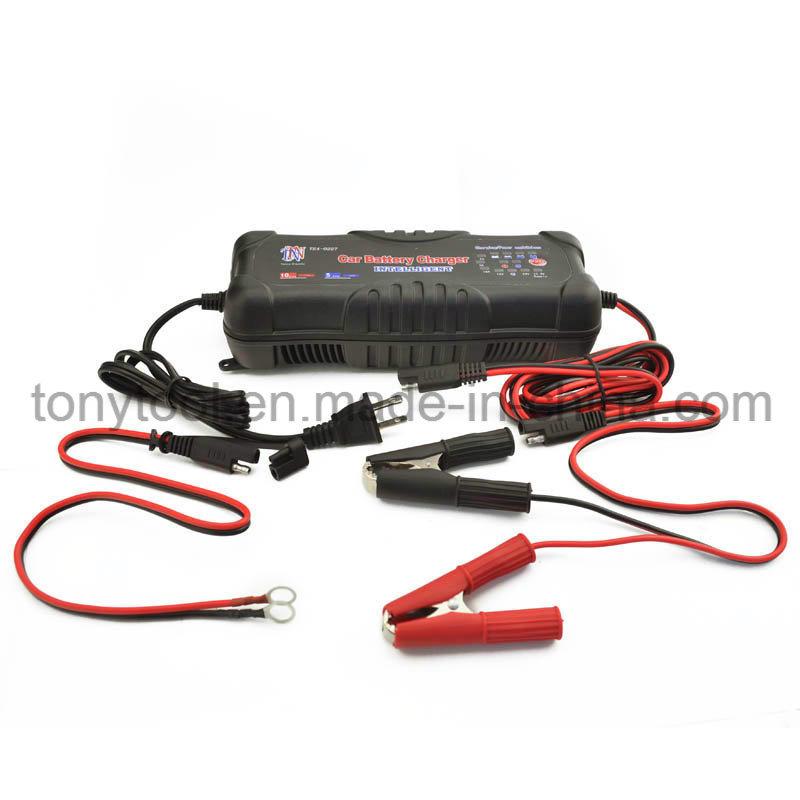 2/5/10A 12V 24V Car Battery Charger