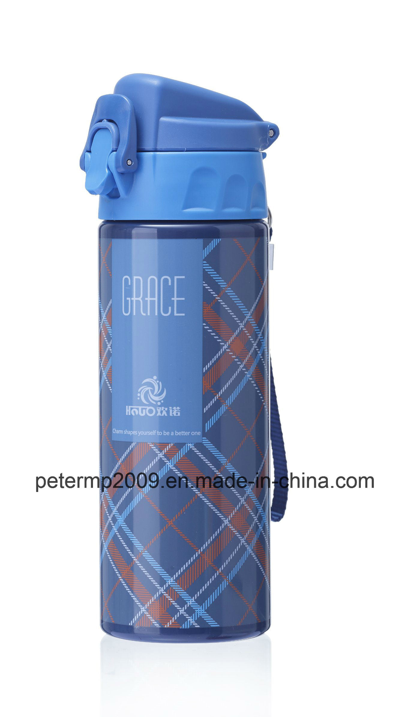 600ml Plastic Water Bottle with Storage Compartment with High Strength and Good Seal