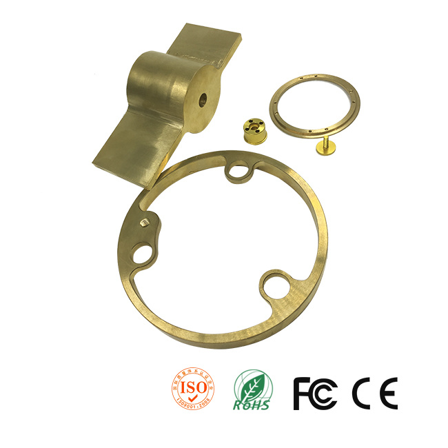 Customized Rotary Union Made From Copper by CNC Machining
