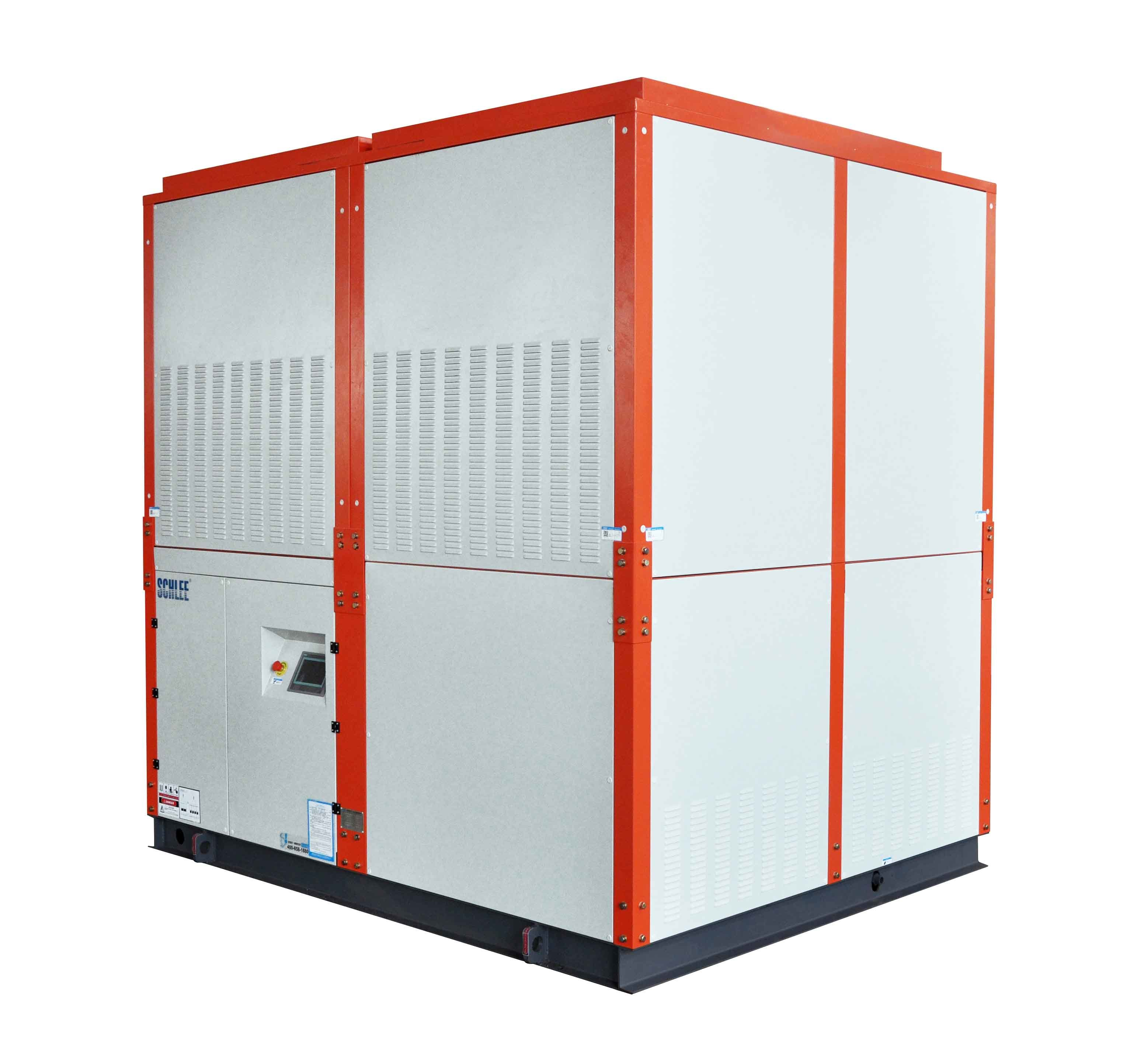 201kw Low Temperature Minus 35 Intergrated Chemical Industrial Evaporative Cooled Water Chiller