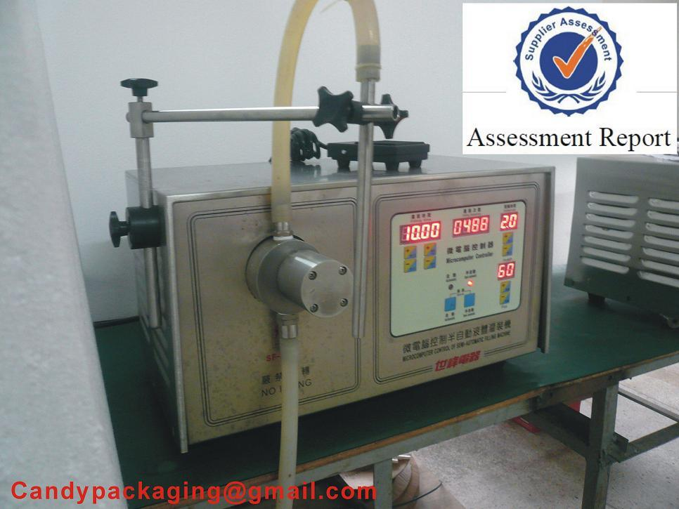 Semi-Automatic Stainless Steel Liquid Filling Machine