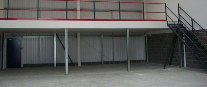 Steel Structure for Temporary Office Use