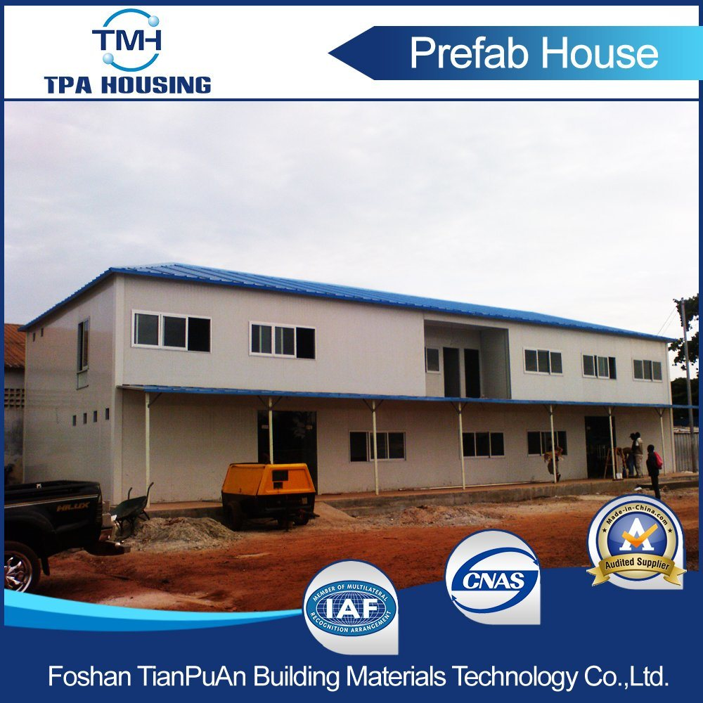 Light Steel Structure Sandwich Panel Prefabricated Mobile House for Sale