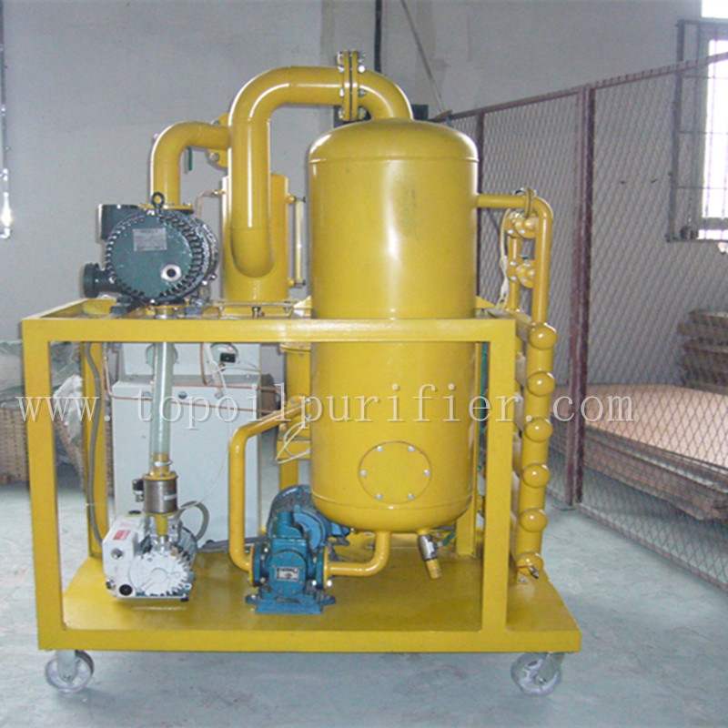 Highly Precise Double Vacuum Used Dielectric Oil Purification Plant (ZYD)