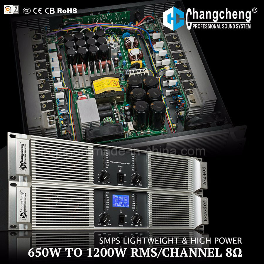 E Series Switching Power Lightweight Professional Power Amplifier