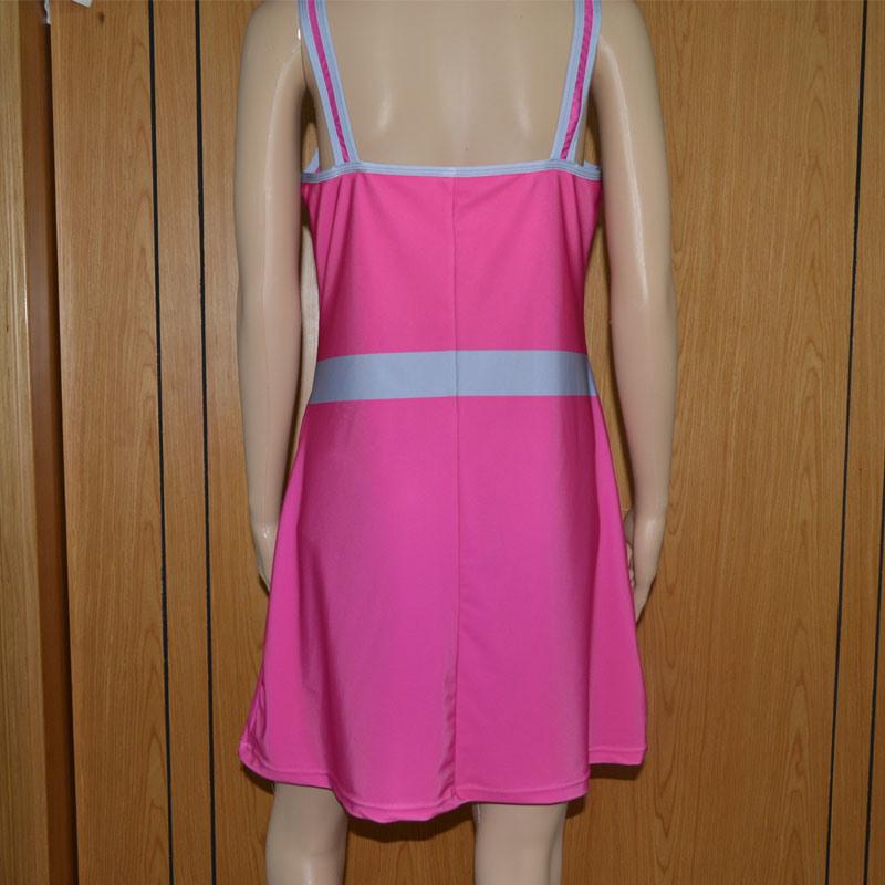 Solid Color Tennis Dress /Lady′s Tennis Shirt