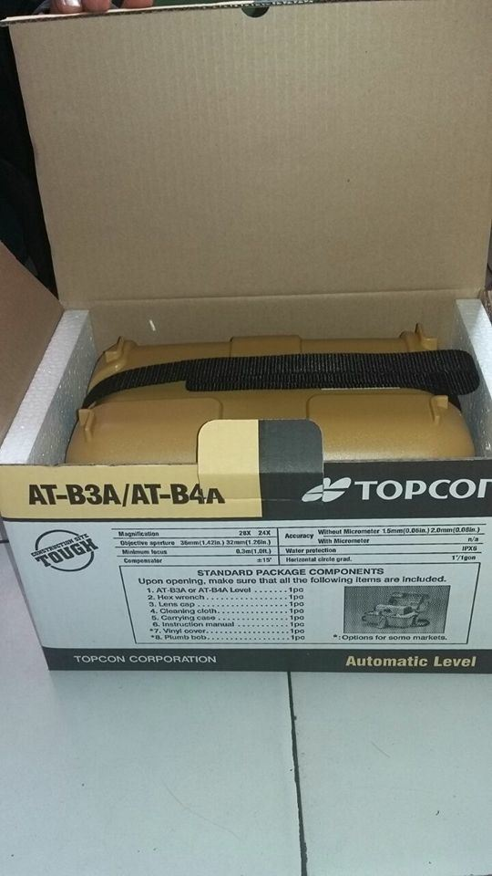 Topcon New Model at-B4a Auto Level