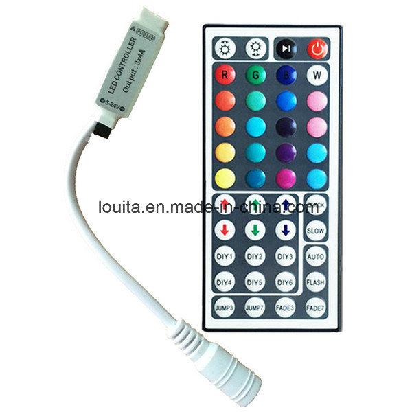 44 Key Mini IR Remote RGB LED Light Strip Controller