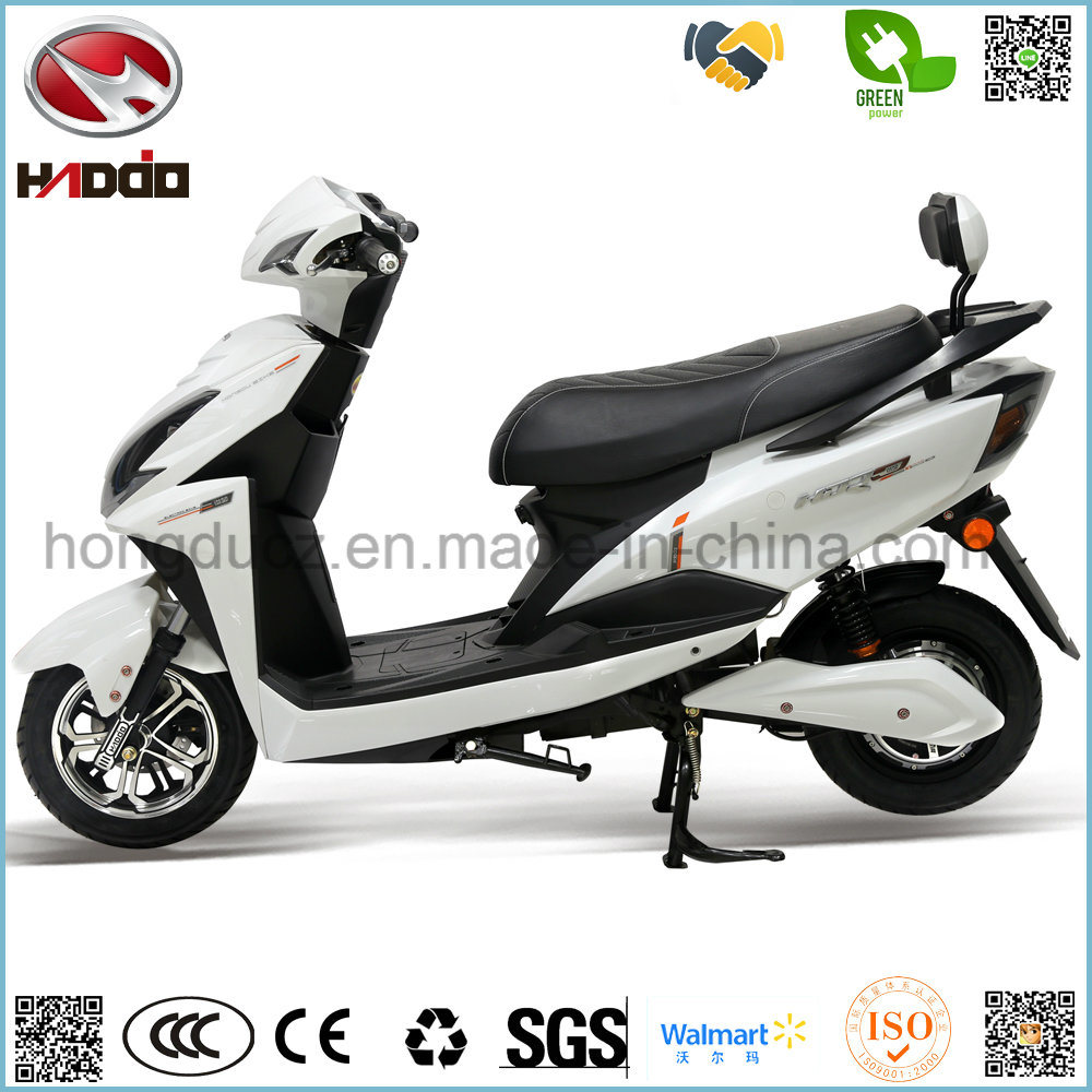 2 Wheel Electric Scooter 2 Seats Lead Battery Motorcycle