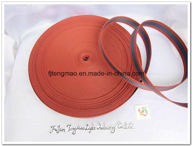600d Marroon Polypropylene Webbing