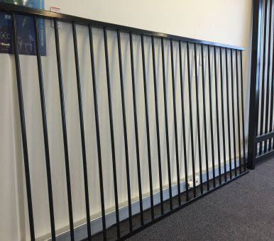 Hot Sales Powder Coated Flat Top Steel Fencing for Swimming Pool