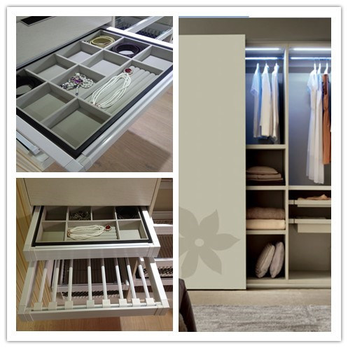 MDF & Plywood Stand-up Wardrobe & Clothes Closet