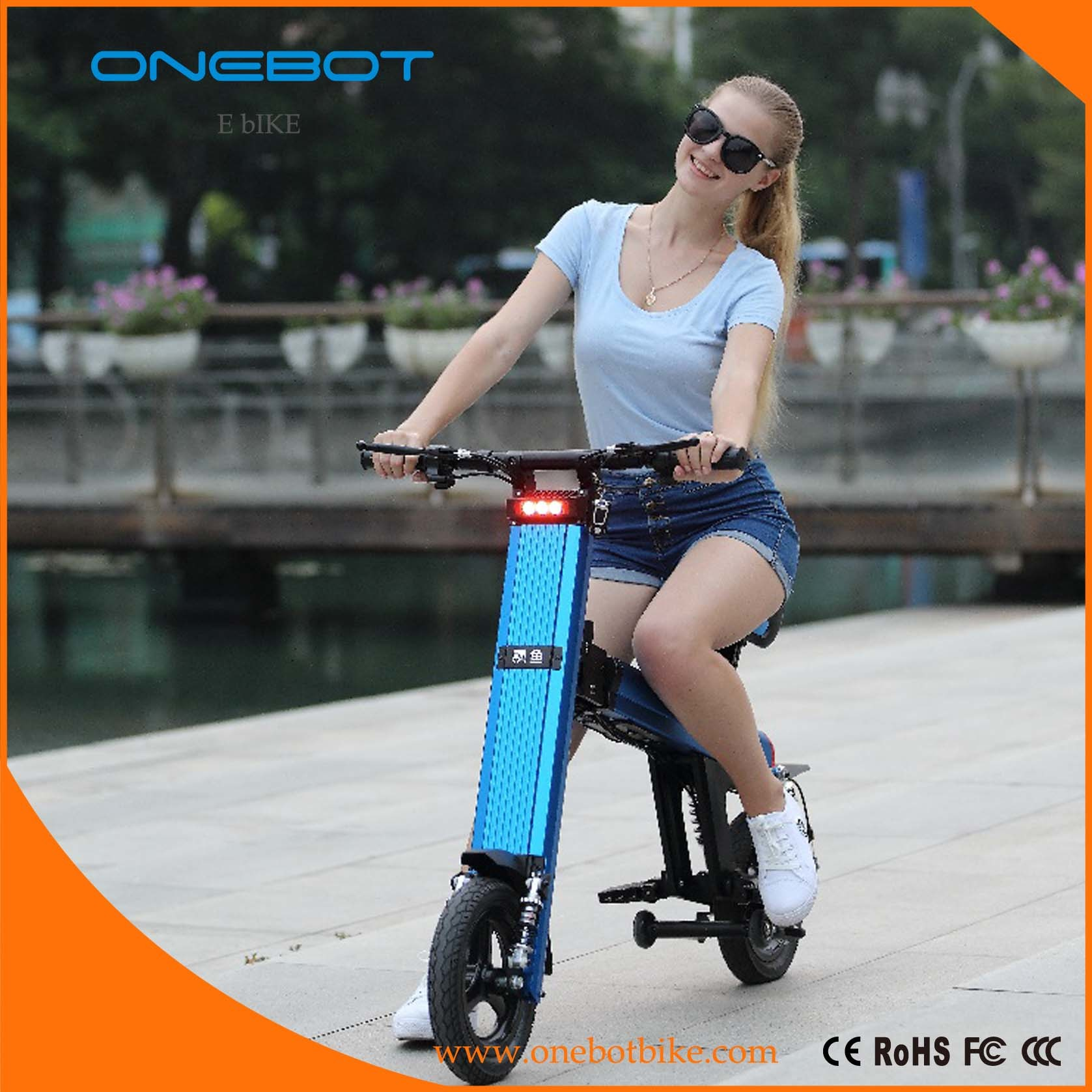 2017 New Mini Electrical Folded Scooter with Lithium Battery
