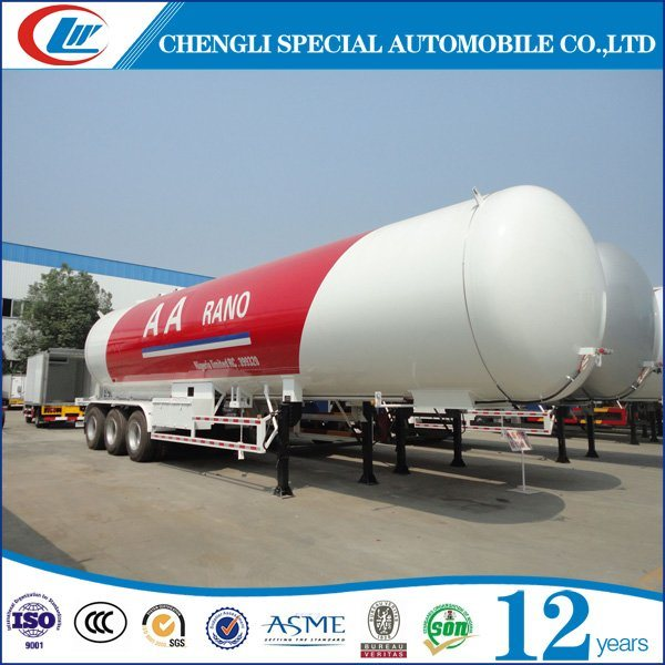 LPG Vessel Manufacturer 56cbm LPG Semi Trailer