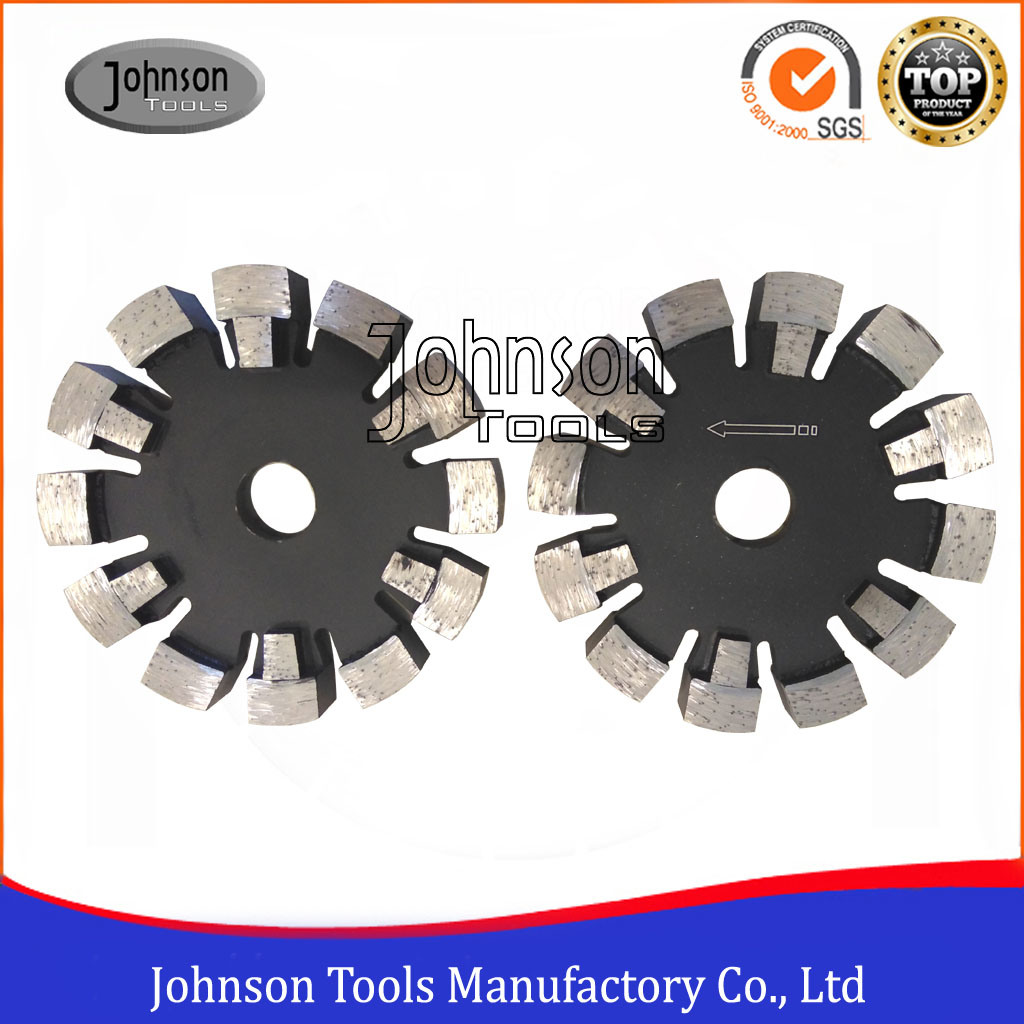 120-125mm Tuck Point Blade with Protection Teeth for Deep Sawing