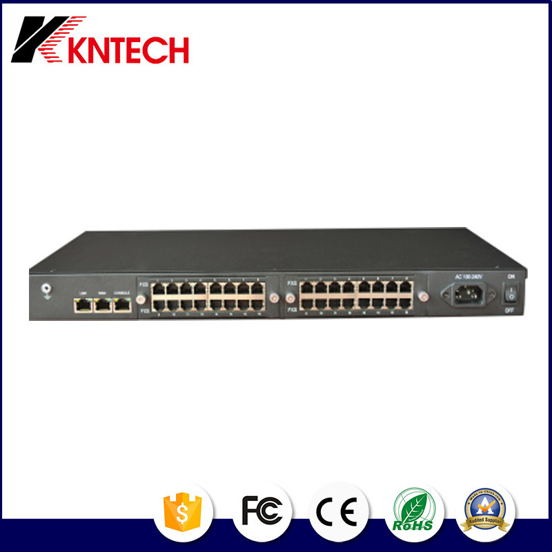 IP PBX IP Gateway 32 Ports Kntech Integreate Knxs-32