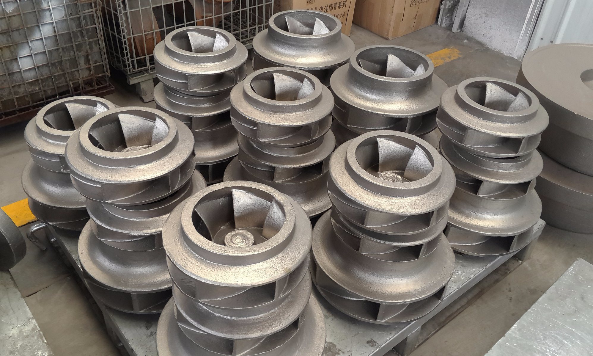 Water Centrifugural Stainless Steel Pump Impellers