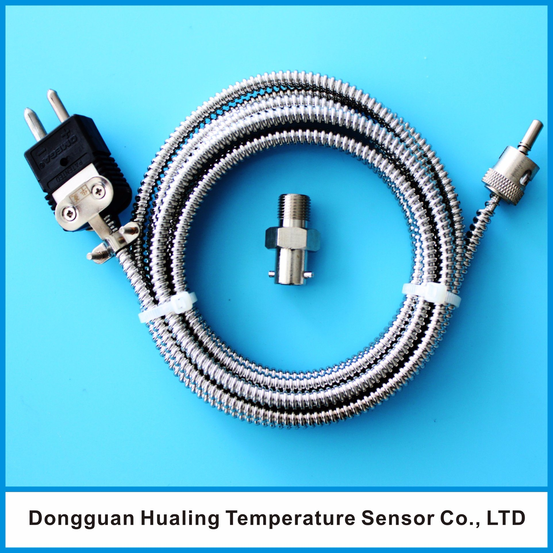 Buckled Thermocouple Sensor