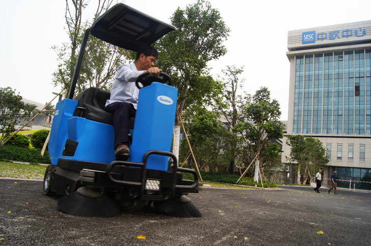 Gadlee Ce Industrial and Commercial Smart Ride-on Sweeper (GTS1250)