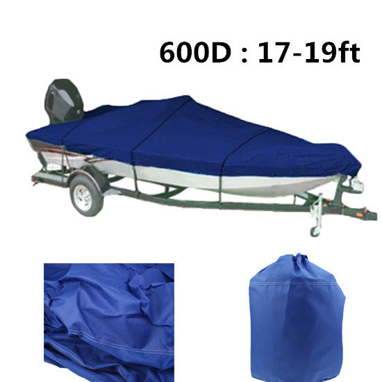 Factory Custom Oxford Material Boat Cover V-Hull Boat Cover