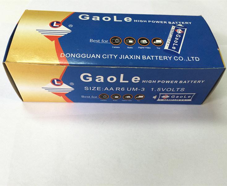 AA R6p 1.5V Dry Battery in Box Packing (UM-3)