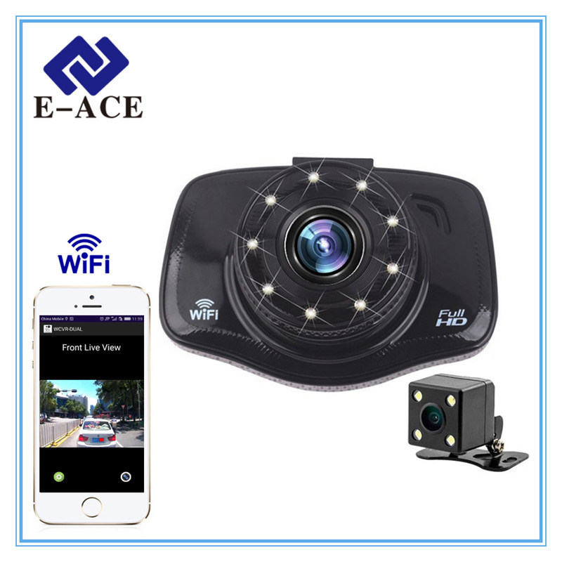 FHD 1080P Dash Cam Video Recorder WiFi Mini Car DVR