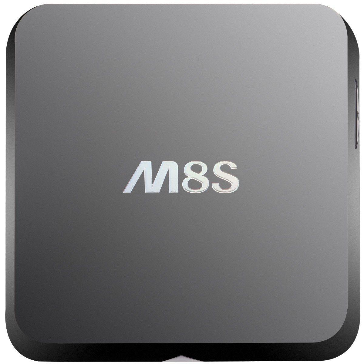 China Factory Wholesale M8s Mini PC Android TV Box Digital Set Top Box