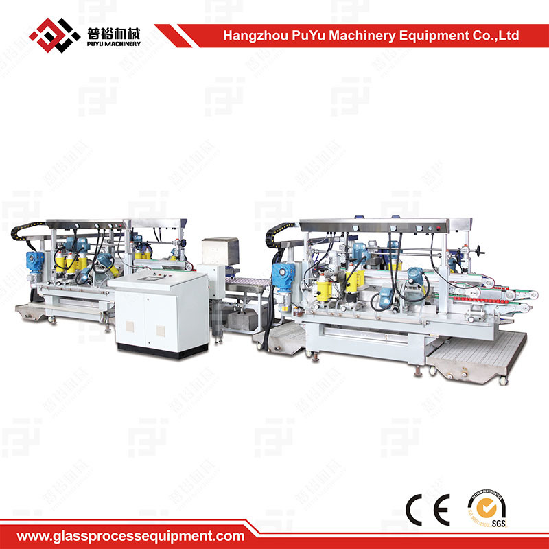 Small Glass Straight-Line Double Edging Machine for Ultrathin Glass
