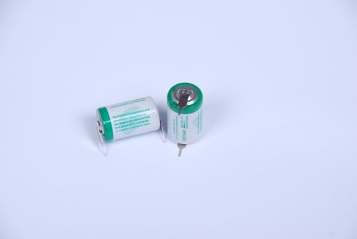 AA Lithium Battery, 3.6V Er14250 1200mAh Battery Used in Water Meter, Gas Meter