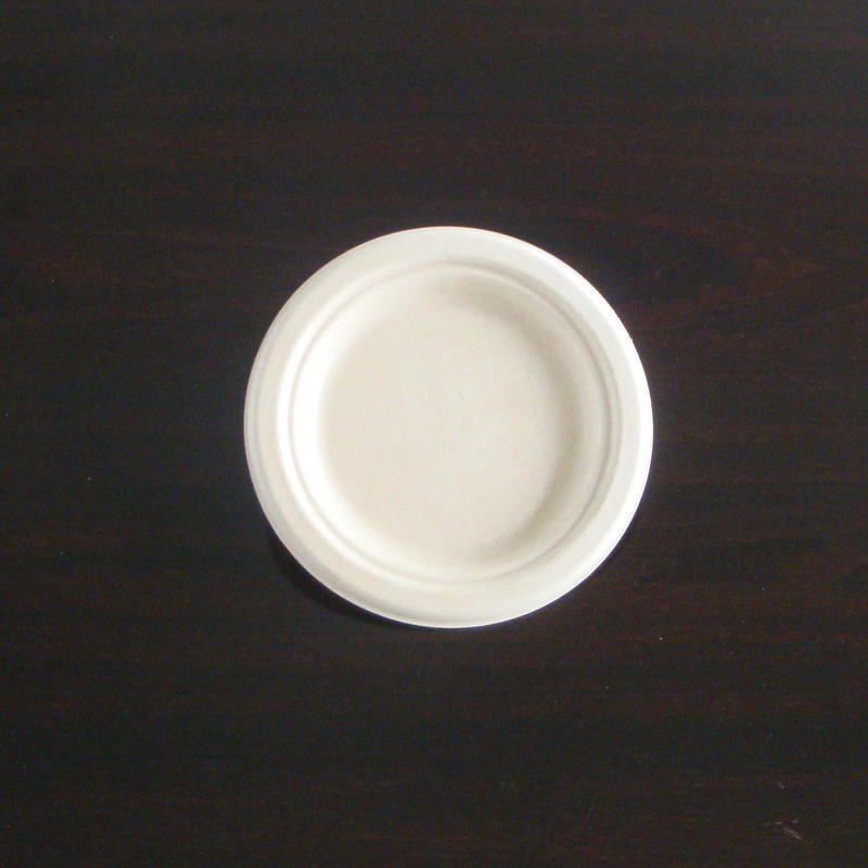 Biodegradable Sugarcane Bagasse Paper Plate