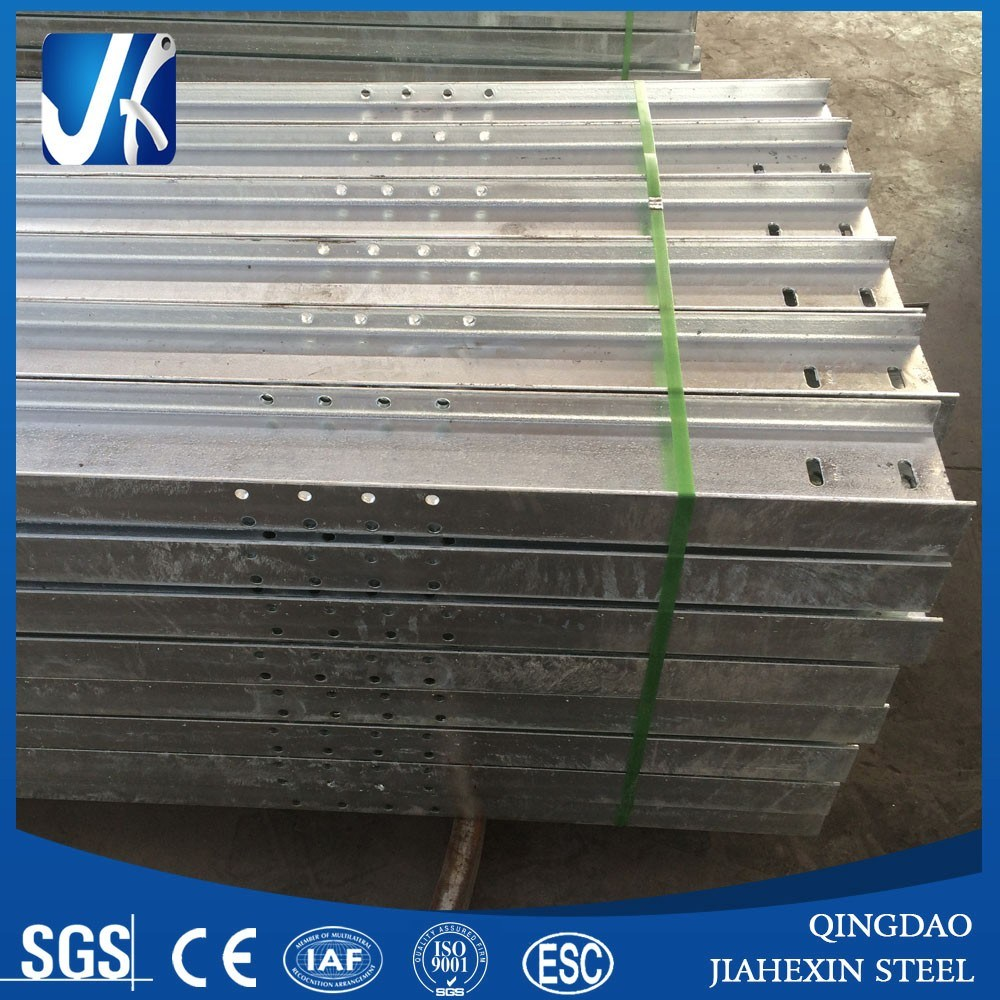 Hot DIP Galvanize H Beam 150*75mm with 16 Holes and 2 Slots, Solar System Project