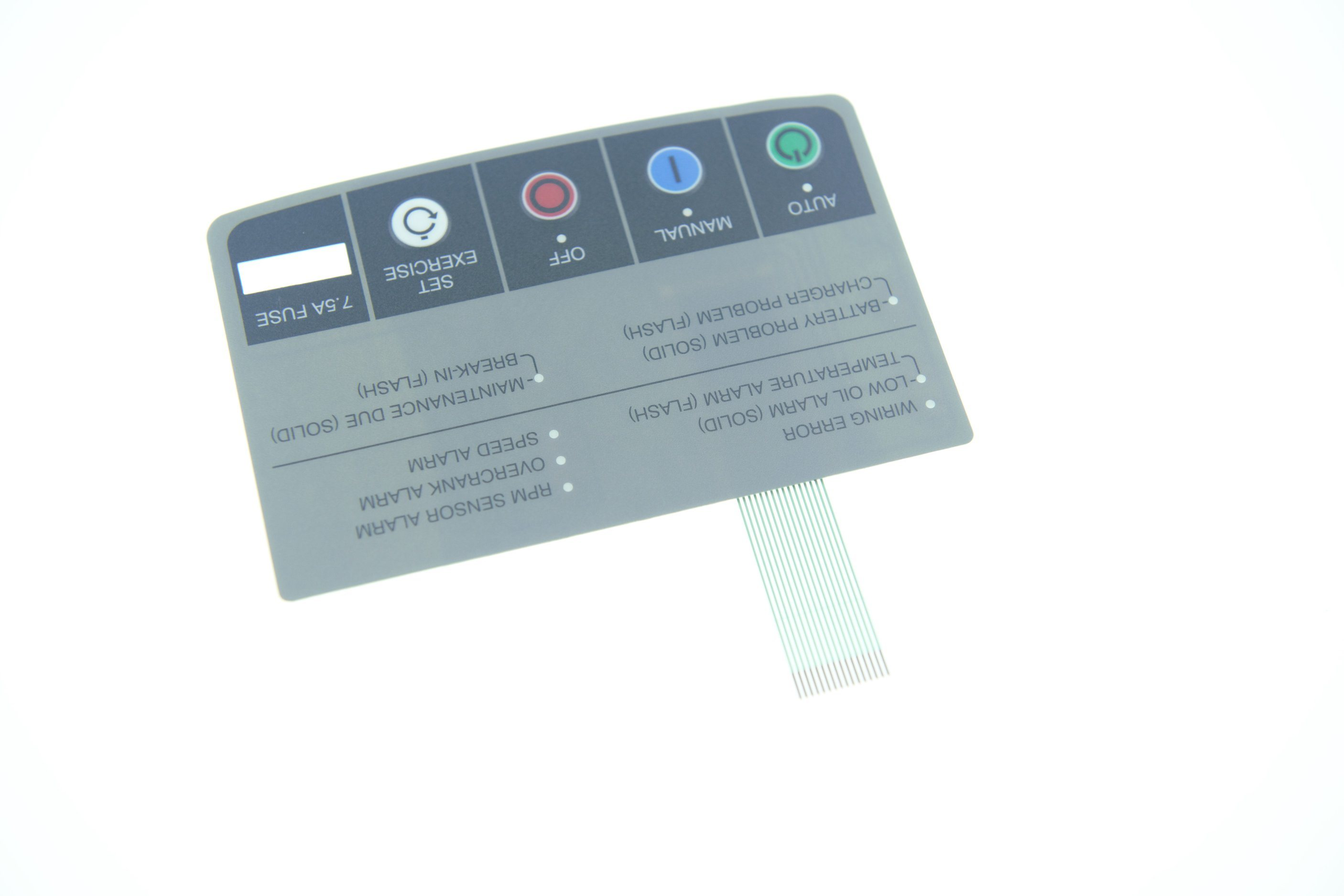 4 LED Keyboard Membrane Switch Thin Film Switch Keyboard Membrane Switch