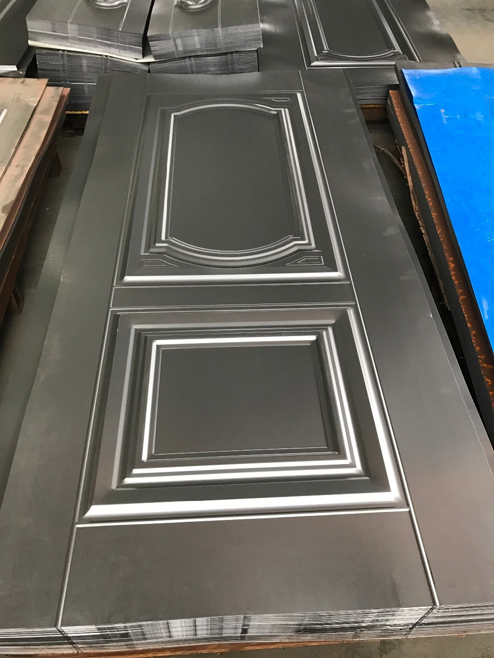 Popular in Steel Market Stamped Steel Door Skin