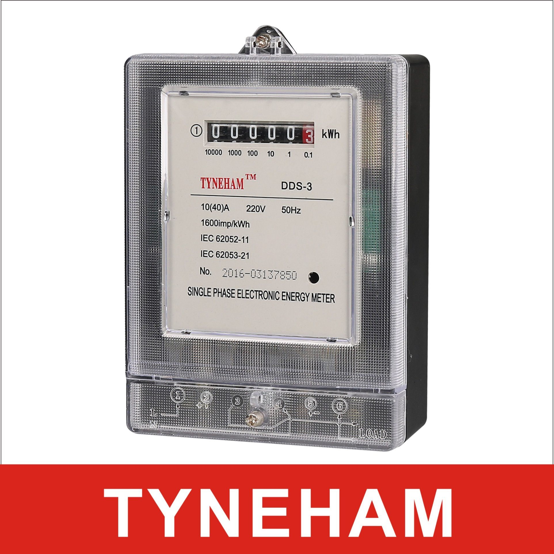 Dds-3 Series Single Phase Electronic Energy Meter