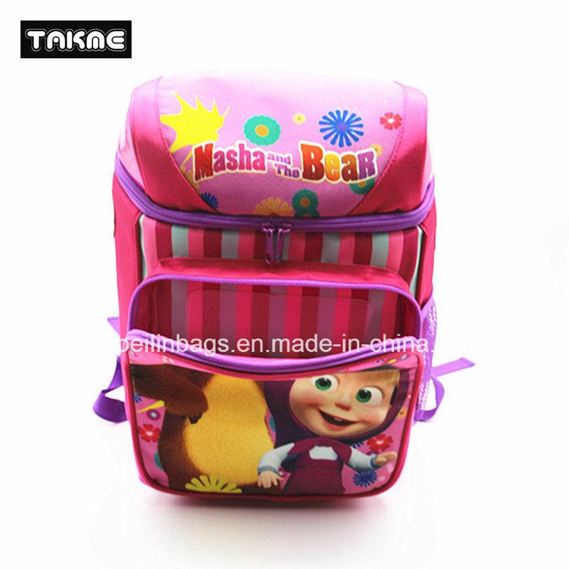 Bucket Shape Cartoon Bag for Kids School Bag