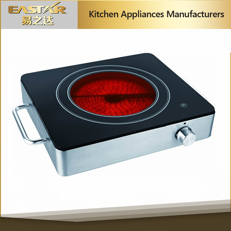 Portable Single Burner Ceramic Infrared Cooker