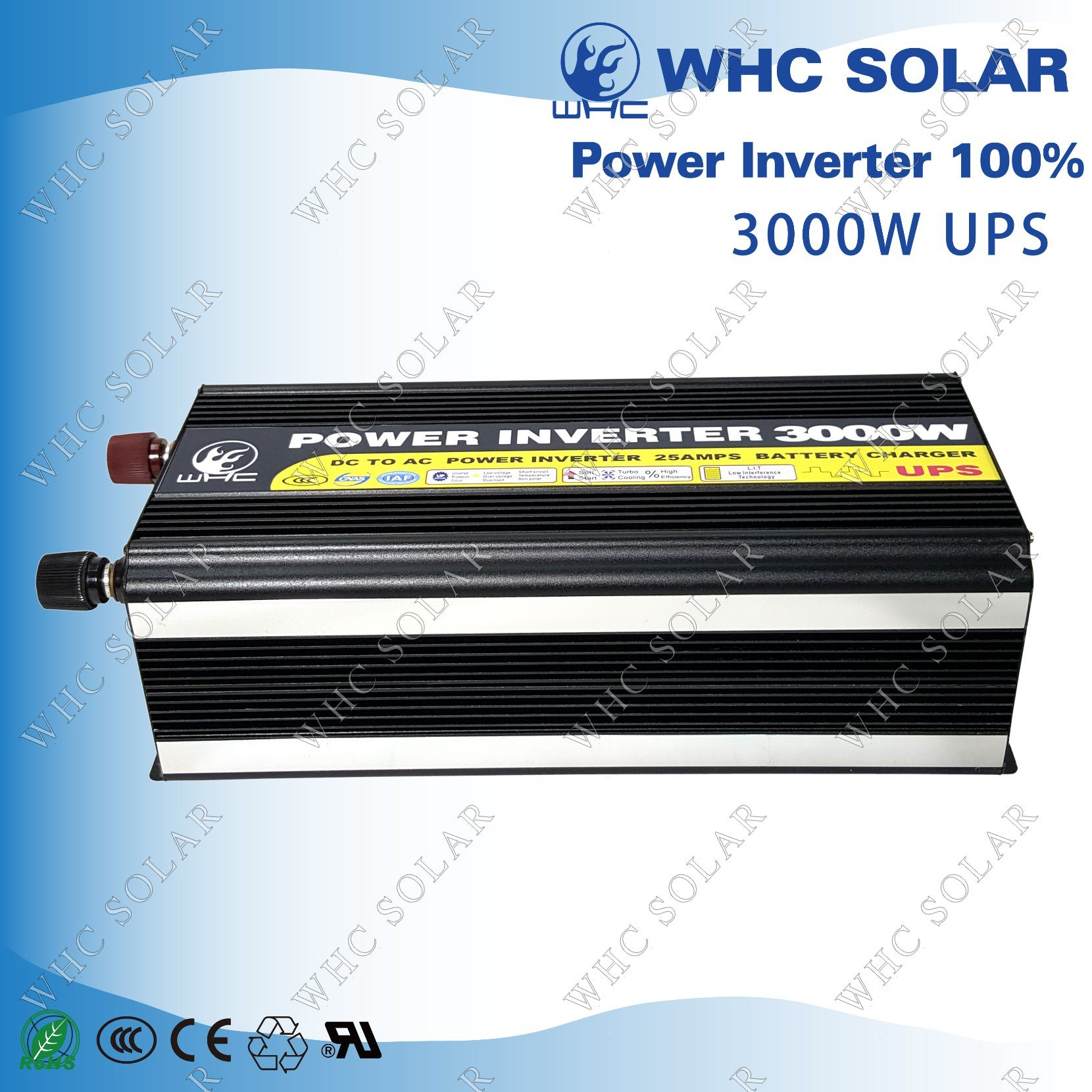 Square Wave Low Consumption 3000W Soalr Charge Inverter