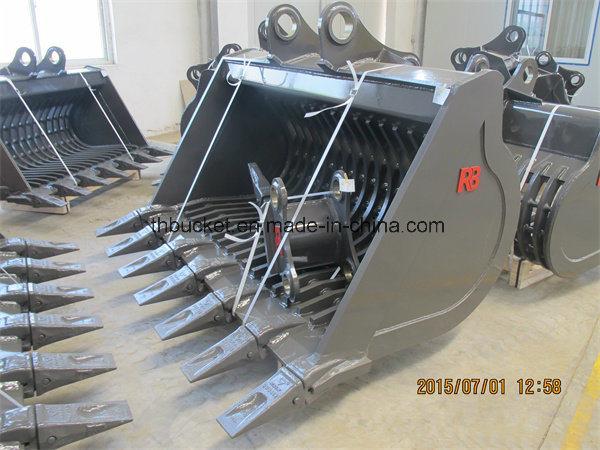 Grating/Grilling/Skeleton Bucket for 12t 20t 30t Excavator