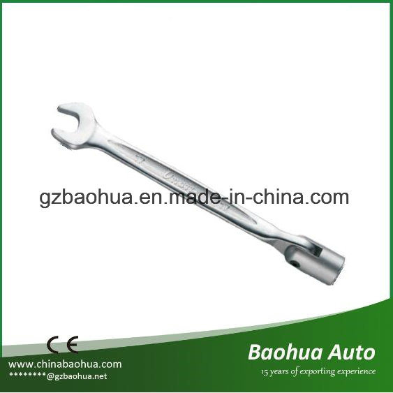 Flexible Combination Socket Wrench (CR-V) Skidproof&Empaistic