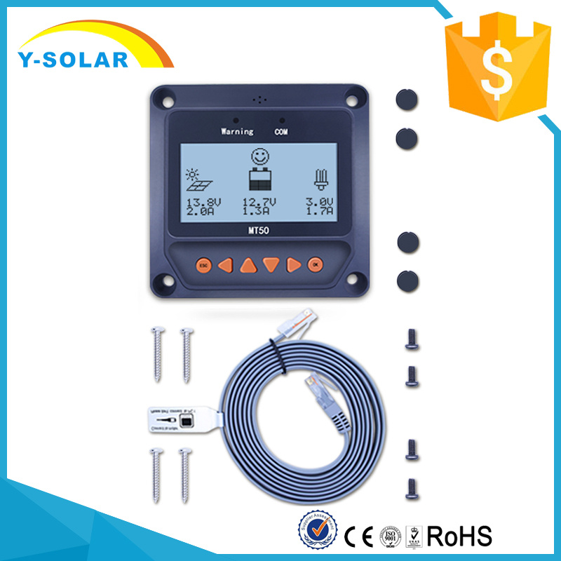Mt50 LCD Remote Meter for MPPT Solar Charge Controller Mt50