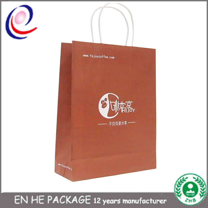 Paper Bags with Handles Wholesale Paper Bag with Logo Print