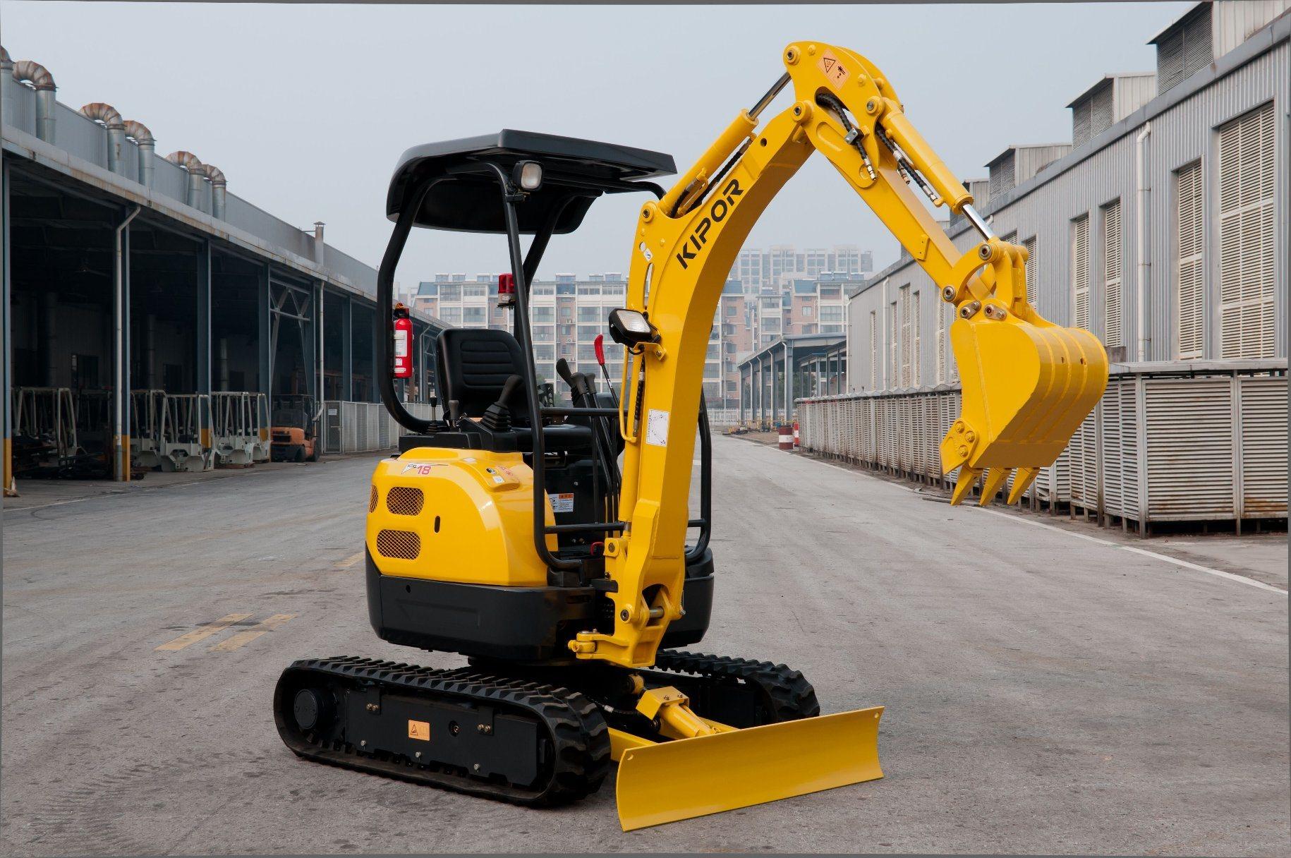 Kipor Diesel Excavator for Construction (KDG15)
