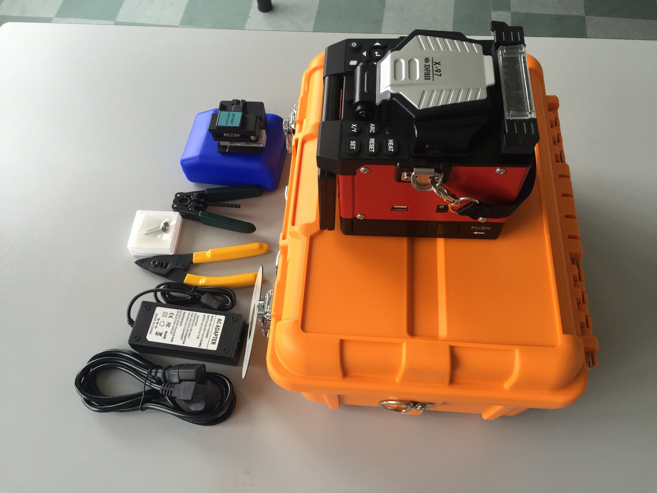 X-97 Multifunction Fiber Optic Fusion Splicer
